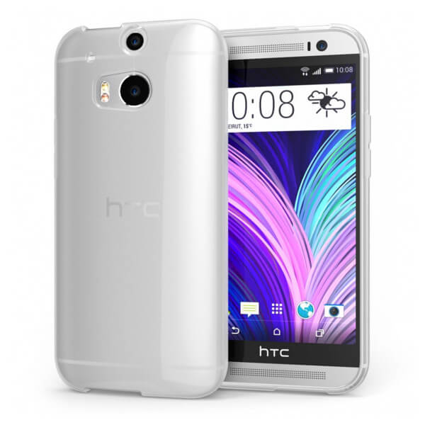 Hard Clear Case for HTC One M8